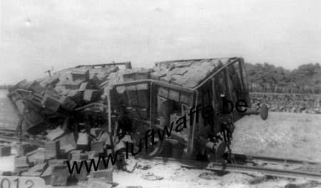 F-14540 Rocquancourt. Mai-juin 40. Train sabordé (WL200)