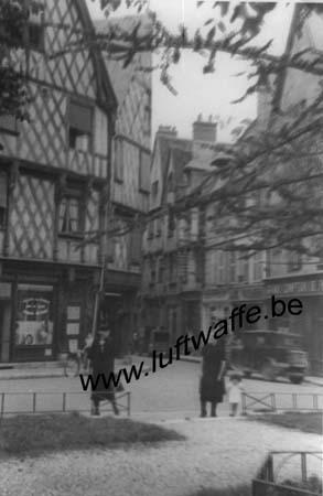 F-18000 Bourges. Quartiers en 40 (WL163)